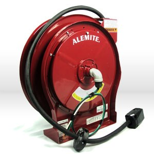 Picture of 7261 Alemite Cord Reel,10 gauge-3 conductor,L 50',115 volt 35 amp