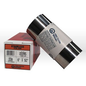 """Picture of 22285 Precision Shim Stock,0.008""""-6""""x50"""" Roll,Stainless Steel"""