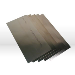 Picture of 22999 Precision Shim Stock,150mmx300mm-8 thicknesses,Metric,Stainless Steel,Assortment