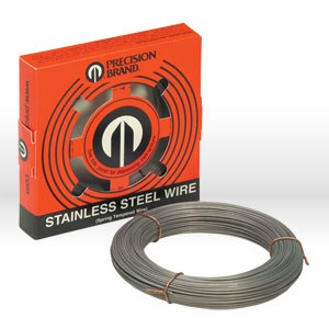 "Picture of 29006 Precision 1 lb. Coil,.006"",Stainless Steel Wire"