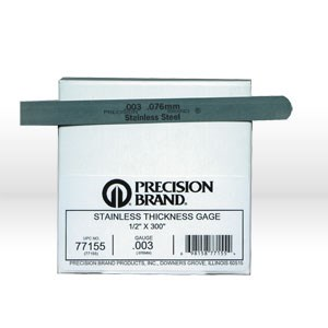 "Picture of 77155 Precision Thickness Gage,Stainless Steel,.003""x1/2""x25'"