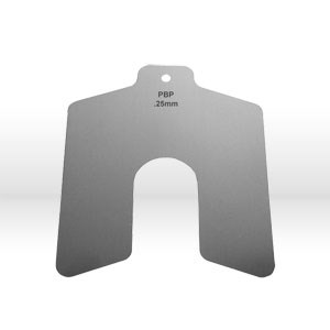 Picture of 81205 Precision Slotted Shim,.025mmx50mmx50mm,Material Stainless Steel