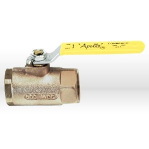 "Picture of 70-107-27 Apollo Bronze Ball Valve,1-1/2"",Locking Handle,L 10.18"",Working PSI 600"