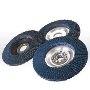 "Picture of 10826FF Arc Abrasives Flap Disc,4.5""x7/8"",Type 27,80 Grit"