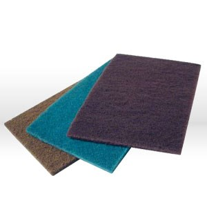 """Picture of 07447 Arc Abrasives,Abrasive Hand Pad,6""""x9"""",Non-woven,Maroon"""