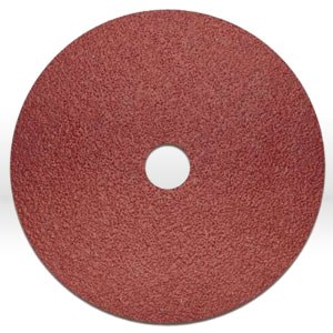 "Picture of 37132 Arc Abrasives Resin Fiber Disc,7""x7/8"",120 Grit"