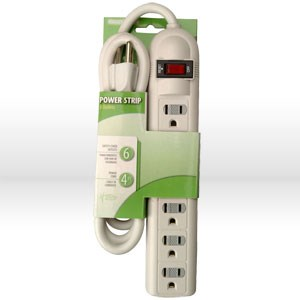 Picture of 041402-88-01 Coleman PowerStation Power Strip,L 4'