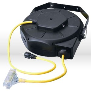 Retractable Extension Cord Reel >> Products For Industry 04820 Coleman Luma Site Retractable Extension