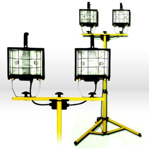 Picture of L14SLED Coleman Luma-Site Halogen Work Light,Watts/1000,Yellow,Halogen Floodlight
