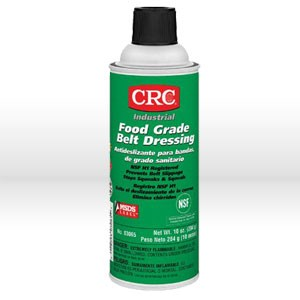 Picture of 03065 CRC Belt Dressing, Food grade belt dressing, 10 oz aerosol