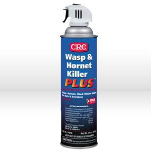 Picture of 14010 CRC Killer Plus Wasp Spray, Wasp & Hornet Insecticide, Reach over 20', 14 oz aerosol