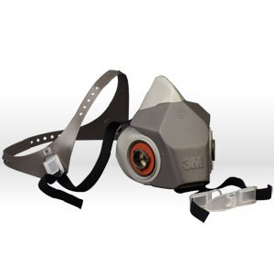 Picture of 51138-66373 3M Half Face Pc Respirator,Half face Pc drop down,6200DD,M