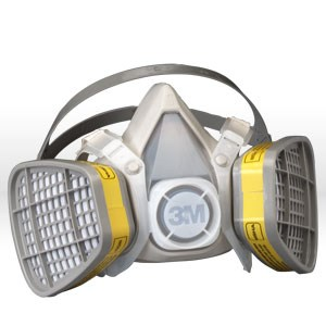 Picture of 51138-21573 3M Disposable Respirator Kits,5203,Organic Vapor/Acid Gas,M