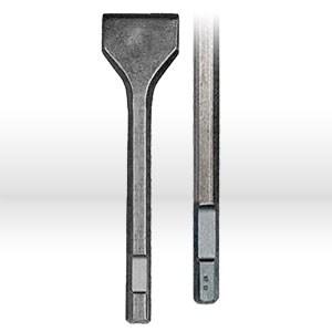 "Picture of DW5952B10 DeWalt Hex Drill Bit,3""x12"" scaling chisel,3/4"" hex shank"