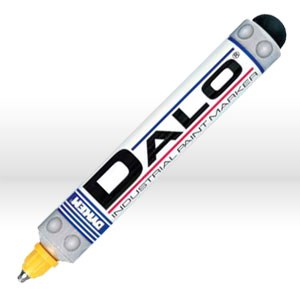 Picture of 26063 ITW Dykem DALO Industrial Steel Tip Paint Marker,Yellow,Med Tip