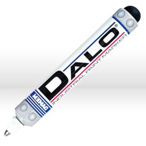Picture of 26083 ITW Dykem DALO Industrial Steel Tip Paint Marker,White,Med Tip