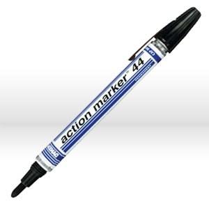 Picture of 44003 ITW Dykem action marker 44 Felt Tip Ink Marker,Black,Med Tip