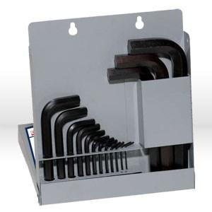 Picture of 10515 Eklind Hex-L L Shaped Hex Key Set,Metal Box/mm,Short,15 pc