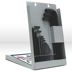 Picture of 10611 Eklind Hex-L L Shaped Hex Key Set,Metal Box/mm,Long,11 pc