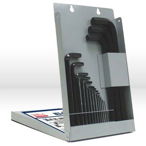 Picture of 10614 Eklind Hex-L L Shaped Hex Key Set,Metal Box/mm,Long,14 pc