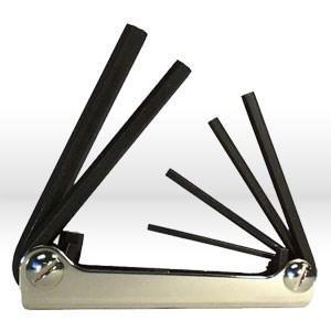 Picture of 21151 Eklind Fold Up Metric Hex Key Set,Set # M15,Metric Hex Keys,3mm-10mm