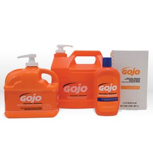 Picture of 0945-04 Gojo Natural Orange Hand Cleaner,1 gallon pump bottle