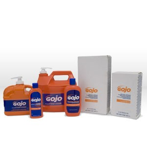 Picture of 0958-04 Gojo Hand Cleaner,Quick-acting,M dirts and greases,1/2 gallon pump bottle
