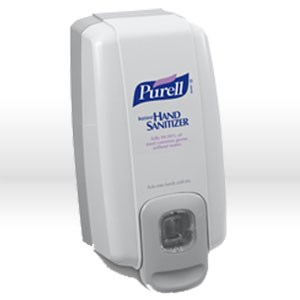 Picture of 2120-06 Gojo Purell Hand Sanitizer,Anti-bacterial dispenser,Smer footprint,Dove gray,1000 ml
