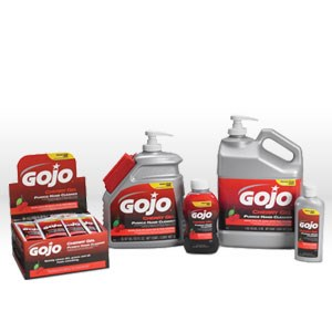 Picture of 2358-02 Gojo Hand Cleaner,Heavy duty cherry-gel pumice hand cleaner,1 gallon pump