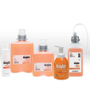 Picture of 5262-02 Gojo Hand Cleaner,Luxury foaming anti-bacterial hand soap,Amber orange,2000 ml Pump