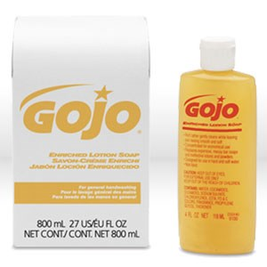 Picture of 9102-12 Gojo Lotion Refill,lotion dispensor refill,Gold,800 ml