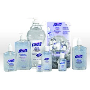 Picture of 9652-12 Gojo Purell Hand Sanitizer,Instant Hand Sanitizer,Citrus,Clear,8 oz Pump bottle
