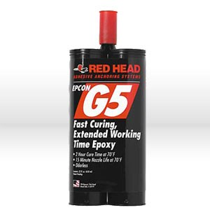 Picture of NEWG5-22 ITW Red Head Anchoring Epoxy,Epoxy,high strength,22 oz
