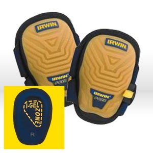 Picture of 4033005 Irwin I-Gel Knee Pads,One Sz,I-Gel,Gum rubber hard shell