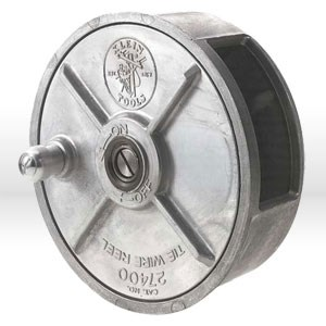 "Picture of 27400 Klein Tools Tie Wire Reel,Light-weight reel,Size 6-1/4""Dia (159 mm),Width: 2-25/32"""
