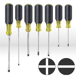 Picture of 85076 Klein Tools Screwdriver Set,7 pc set