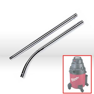 Picture of 49-90-1865 Milwaukee Vacuum Attachment,Two-Pc chromed metal,Floor wand attachment