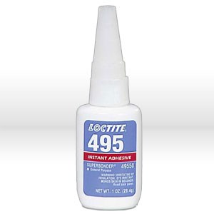 Picture of 49550 Loctite SUPER BONDER General Adhesive,# 495 instant adhesive,1 oz bottle