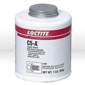 Picture of 51007 Loctite Anti Seize Lubricant,Copper based,prevents rust,1 lb brush top