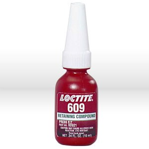 Picture of 60921 Loctite General Adhesive,# 609 retaining compound,10 ml bottle .34 oz