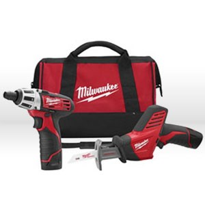 Picture of 2491-22 Milwaukee M12 Power Tool Kit