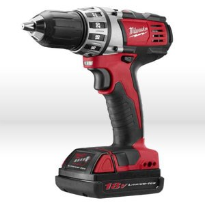 Picture of 2606-22CT Milwaukee M18 Cordless Driver Drill,2-speed compact driver drill W/spindle lock,1/2""