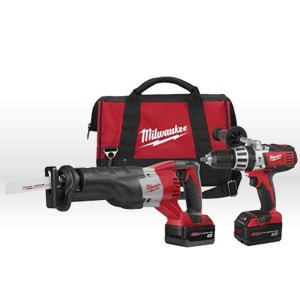 "Picture of 2692-24 Milwaukee M18 Power Tool Kit,1/2"",Hammer Drill,Sawzall,Impact Driver"