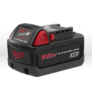 Picture of 48-11-1828 Milwaukee Battery,18 volt,M18 XC high capacity Lithium-ion