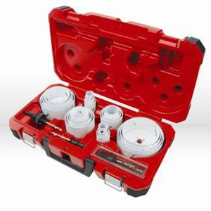 Picture of 49-22-4185 Milwaukee ICE HARDENED Hole Saw Kit,All-purpose kit,29 pc