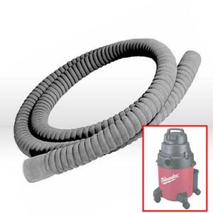 "Picture of 49-90-0020 Milwaukee Vacuum Hose,10' W/1-1/2"" ID"