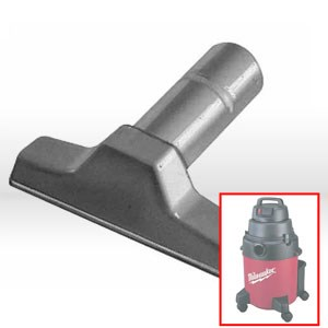 "Picture of 49-90-1775 Milwaukee Vacuum Attachment,6"",Plastic utility nozzle,For 1-1/4"" IDs"