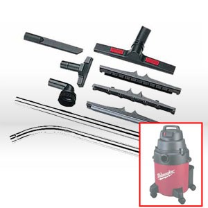 """Picture of 49-90-1810 Milwaukee Vacuum Kit,Vacuum kit,Fits 1/2"""" IDs"""