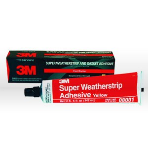 Picture of 51135-08001 3M Weather Strip,Super weatherstrip and gasket adhesive,Yellow,5 oz tube