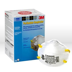 Picture of 51138-46457 3M N95 Disposable Respirator,8210,Filter Class/N95